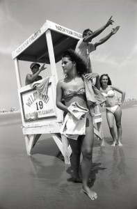 Lifeguards, Wildwood, NJ, 1991