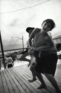 Two Boys Wrestling, Manasquan, NJ, 1992