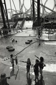 Waterpark With Loops, Wildwood, NJ, 1991